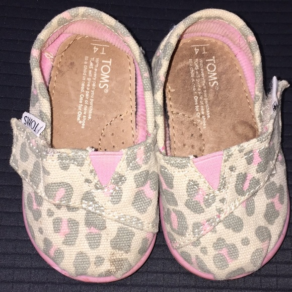 Toms Shoes | Baby Toms Size 4 | Poshmark